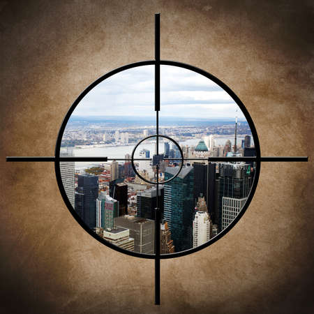 honing: New York  target Stock Photo