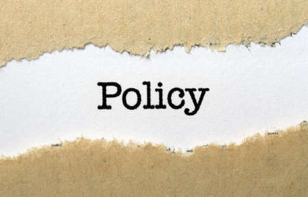 government regulations: Policy
