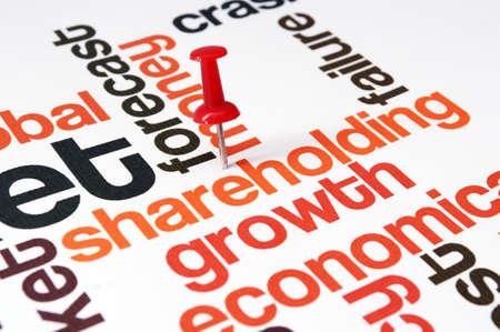stakeholder: Shareholding word cloud