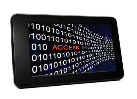 Access concept on Pc tablet photo