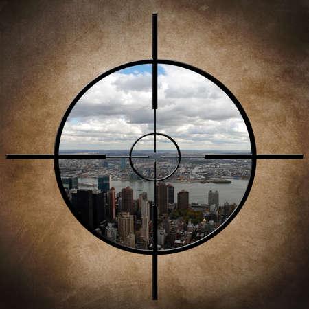 honing: Military target on New York