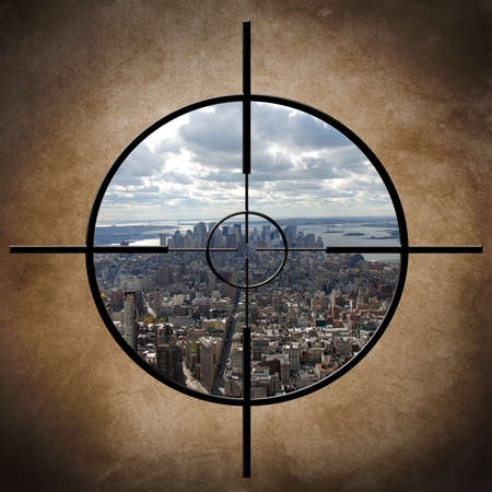 Military target on New York Stock Photo - 21172207