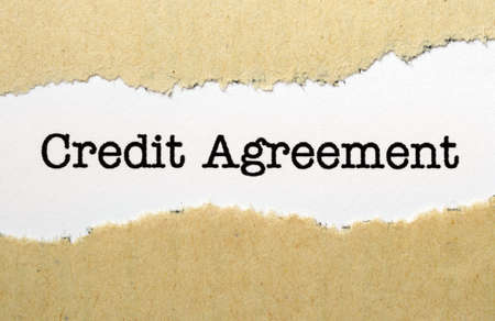 financial official: Credit agreement