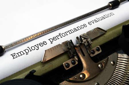 enhancement: Employee performance evaluation