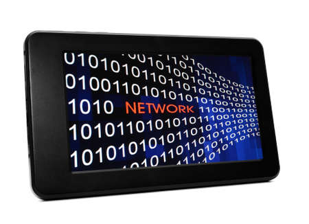 Network concept on PC tablet Stock Photo - 21172269
