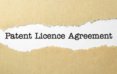 Patient license agreement photo