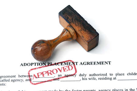 Adoption agreement photo