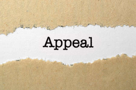 appeal: Appeal concept Stock Photo