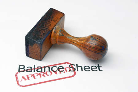 hm: Balance sheet - approved