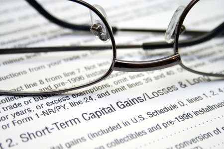 Capital gains and loses photo