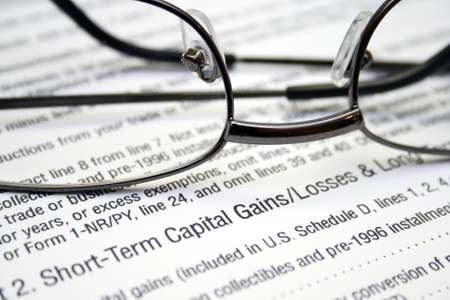 capital gains: Capital gains and loses