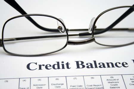 contabilidad financiera cuentas: Informe sobre el balance de cr?to