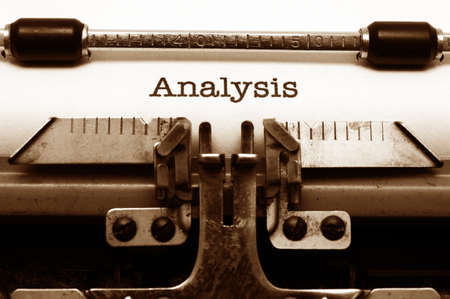 Analysis concept photo