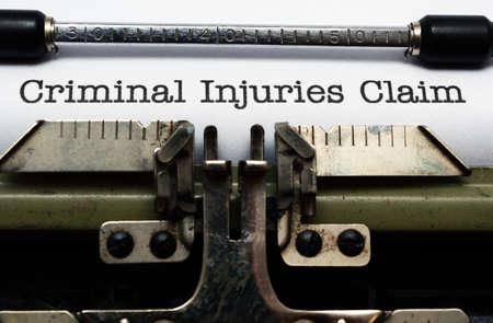 compensated: Criminal injuries claim form