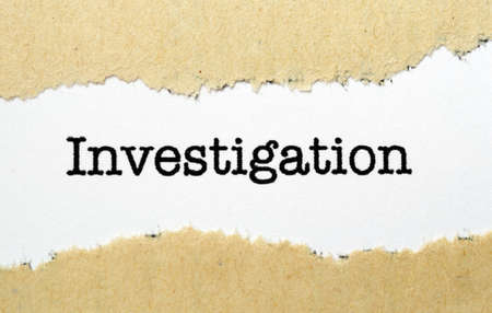 uncovering: Investigation