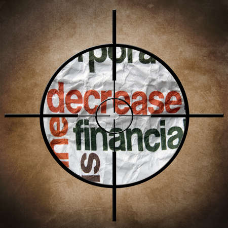 time deficit: Decrease finance target