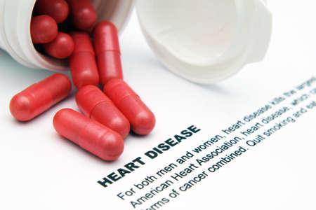 heart disease: Heart disease concept