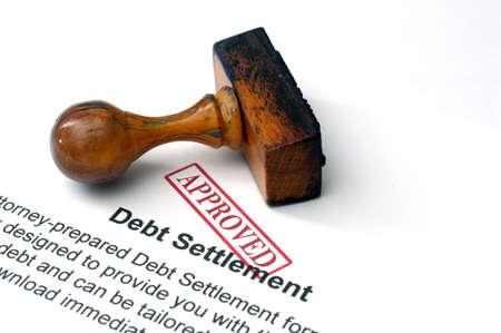 債務の決済 写真素材 - 21633990