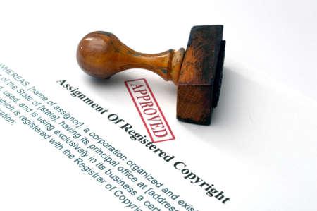 registered: Assignment of registered copyright