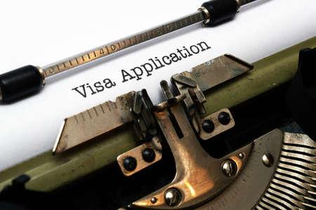 Aanvraag van een visum