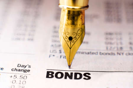 Bond-Indizes Standard-Bild - 21818265