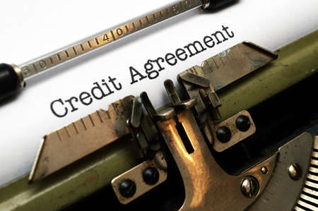 Credit agreement photo