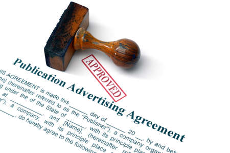publication: Publication advertising agreement
