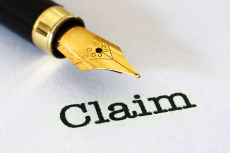 Claim form Stock Photo - 21920257