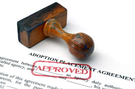 Adoption placement agreement photo