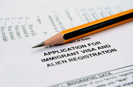 naturalization: Application for immigrant visa