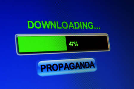 Downloading propaganda photo