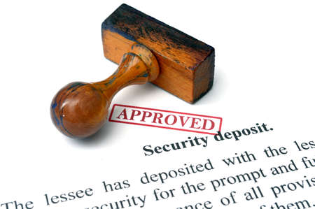 Security deposit Stock Photo - 21964936