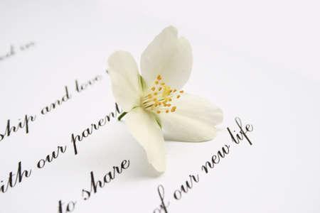 curare teneramente: Amore lettera Archivio Fotografico
