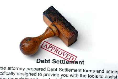 settlement: Debt settlement