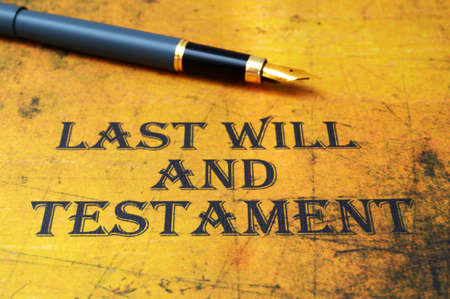 heir: Last will and testament