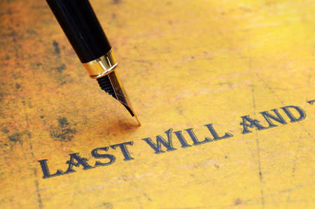 surviving: Last will and testament