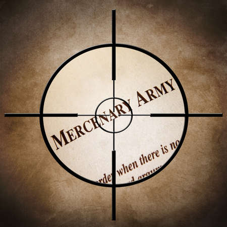 mercenary: Mercenary army