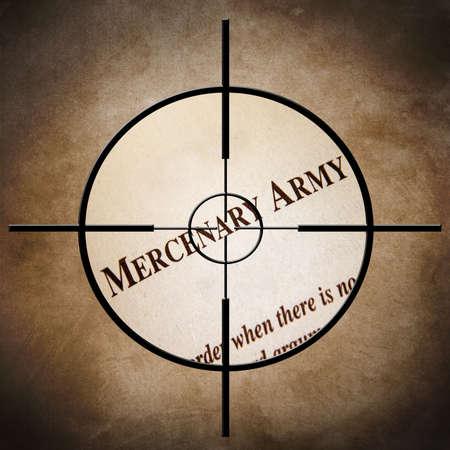 mercenary: Mercenary army