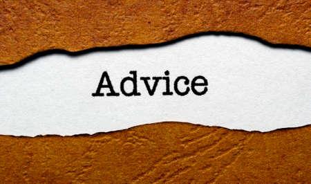 advising: Advice