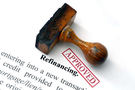 Refinancing Фото со стока - 22187766