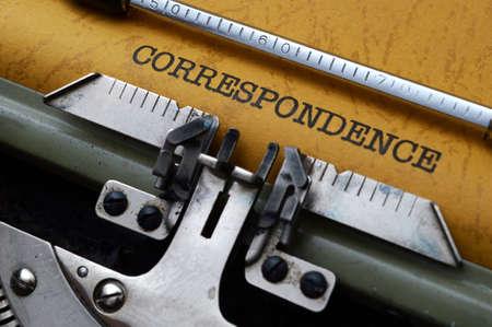 correspond�ncia: Conceito correspond�ncia