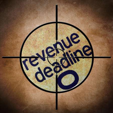 exemptions: Revenue deadline target