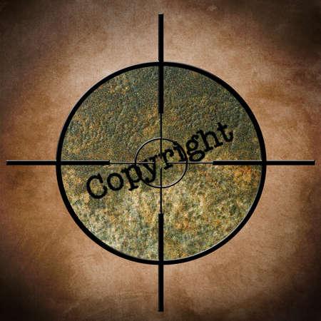gun license: Copyright target