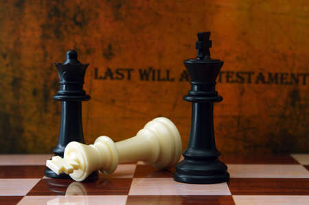 gifting: Chess and last will concept