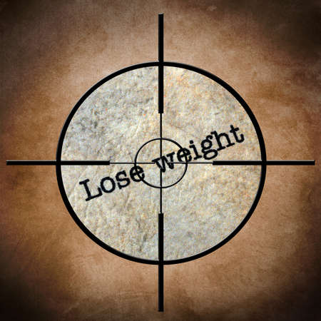 Lose weight target photo