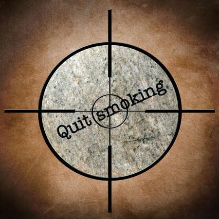 quit: Quit smoking target