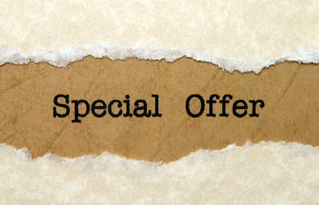 special offer: Special offer