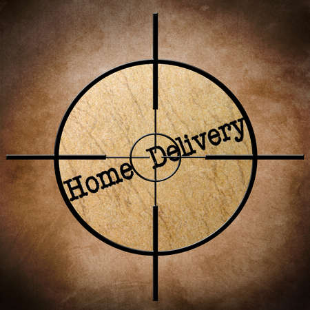 Home delivery target photo