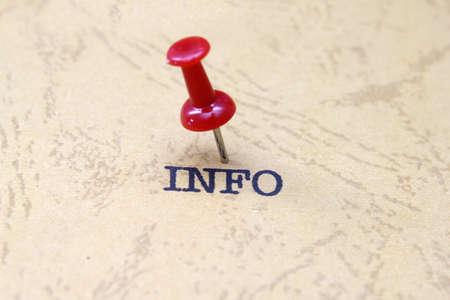 philosophy of logic: Push pin on info text