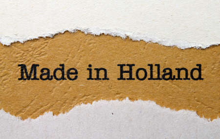 Made in Holland photo